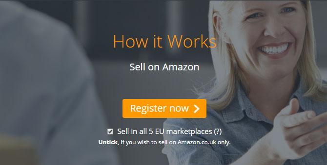 如何在Amazon銷售