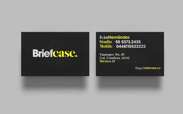 Typo-namecard