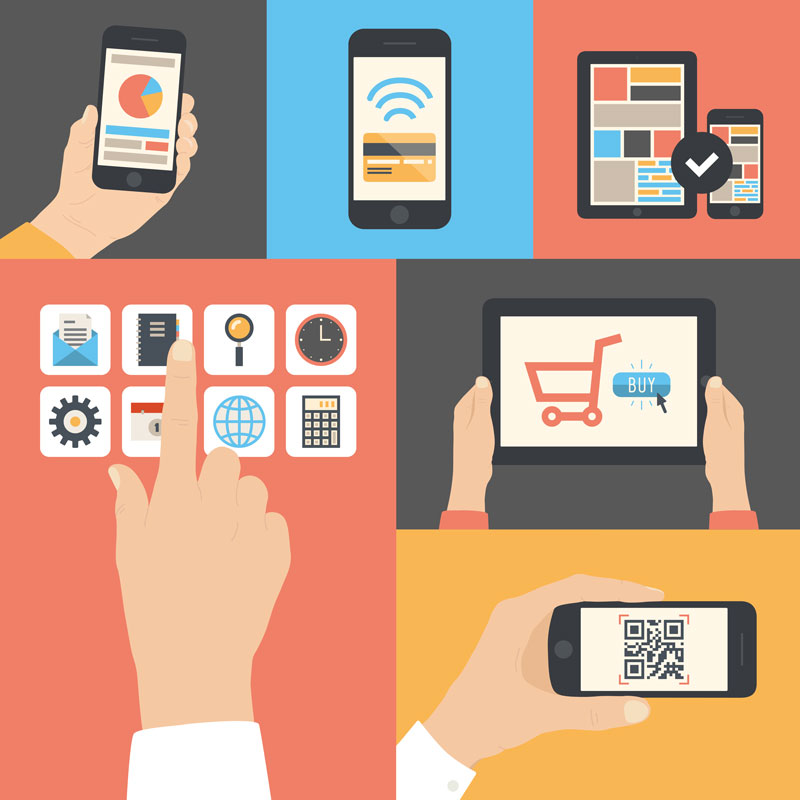 SEO shop in Mobile-Devices