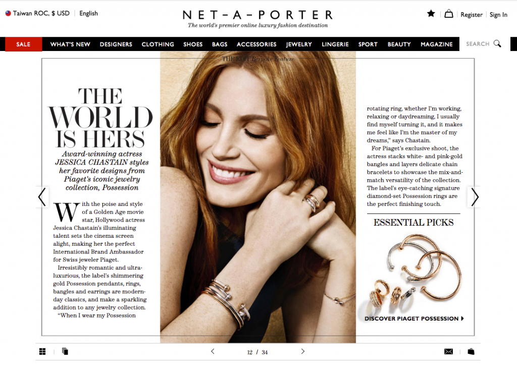 Net a porter-Magazine