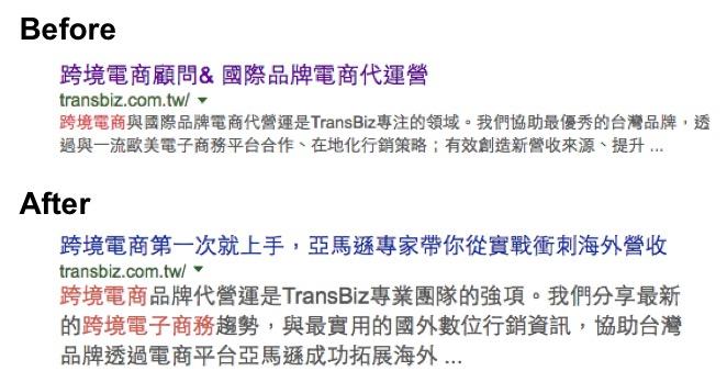 官網描述-搶跨境電商關鍵字