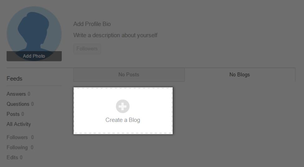 点选Create a Blog