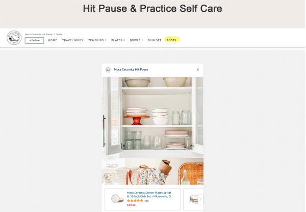 Amazon Posts - example - Mora Ceramics